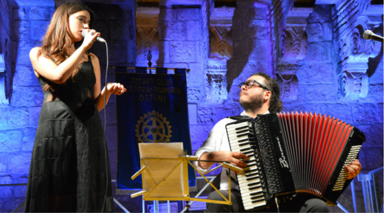 Giorgio Albanese & Sarita Schena | Jazz Accordion Player & Composer | Fisarmonicista